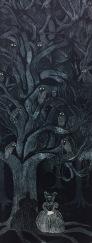 Night Studies, etching, 30 x 70 cm