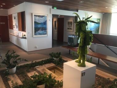 Utställning på Didrichsens konstmuseum 2019
